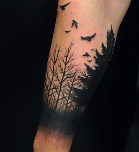 tattoo arm growth 45 inspirational forest tattoo ideas spiritual growth