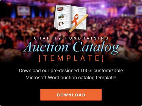 Auction Catalog Template Free The Ultimate List Of 100 Silent Auction Item Ideas