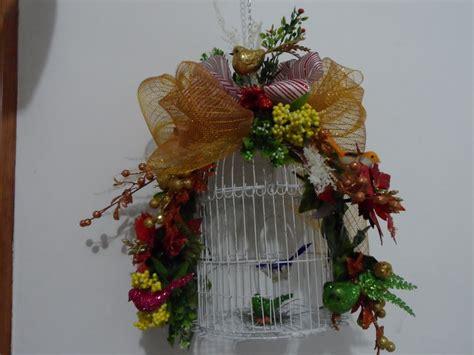 Halloween Decoration To Make At Home jaula navide 241 a adornada con pajaros y flores mi