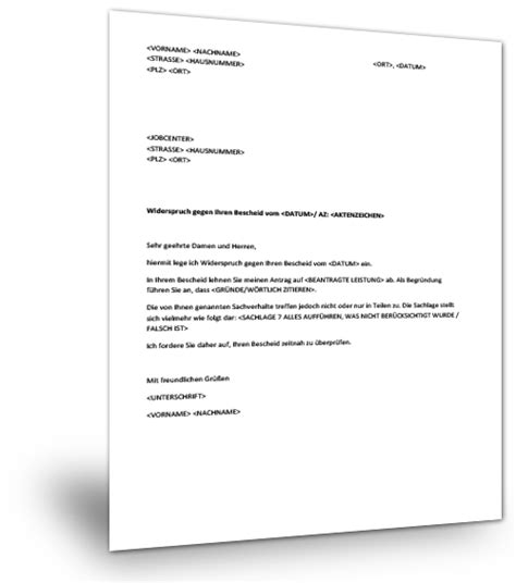 Muster Hausverbot Musterbrief Jobcenter Musterix