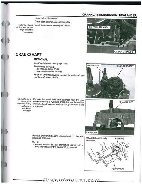 muv honda 2009 2013 honda muv700 big side by side service manual