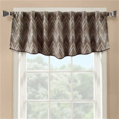 How To Make A Modern Valance flambe modern ascot window valance contemporary valances by bed bath beyond
