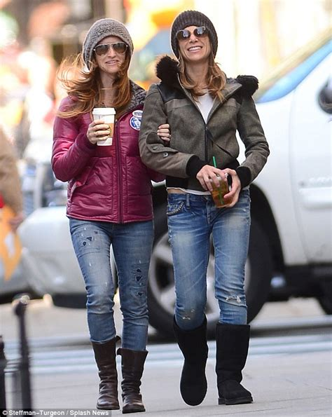 jillian michaels tattoo jillian and heidi rhoades enjoy stroll through