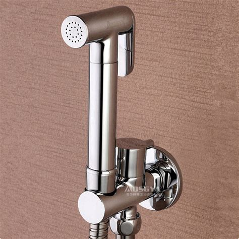 bidet dusche 1 2 quot brass held bidet shower set toilet jet