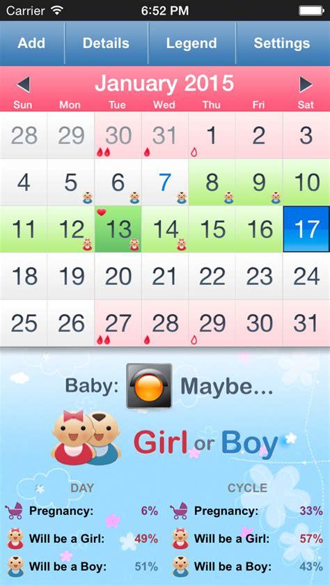 Ovulation Calendar Pregnancy Calculator App Shopper Menstrual Calendar Ovulation Calculator