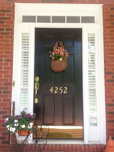 Front Door With Only Blinds In The Sidelights Dream Blinds For Sidelights Front Door