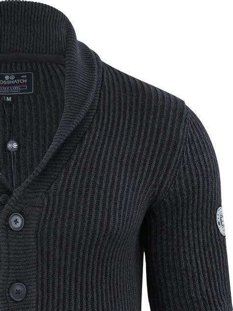 mens knit shawl cardigan mens cardigan jumper crosshatch greyson button up twist