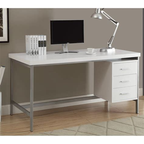 monarch specialties computer desk shop monarch specialties contemporary computer desk at