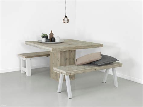 tafel trier steigerhouten tafel met kolompoot ook maatwerk f 216 rn