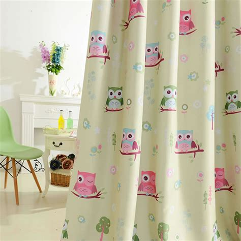 owl curtains for bedroom hot beige kids room curtains for kitchen the bedroom