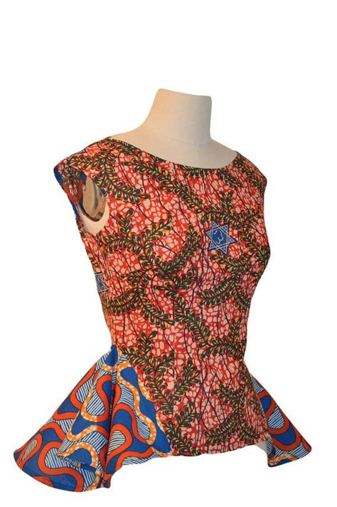 african tops styles african print stylish top by rahyma on etsy 65 00