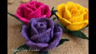 flores de crochet flores tejidas a crochet video de imagenes youtube
