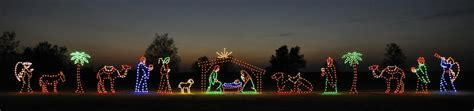 jesus outside christmas lights outdoor nativity lighted nativity sets for sale holidaylights