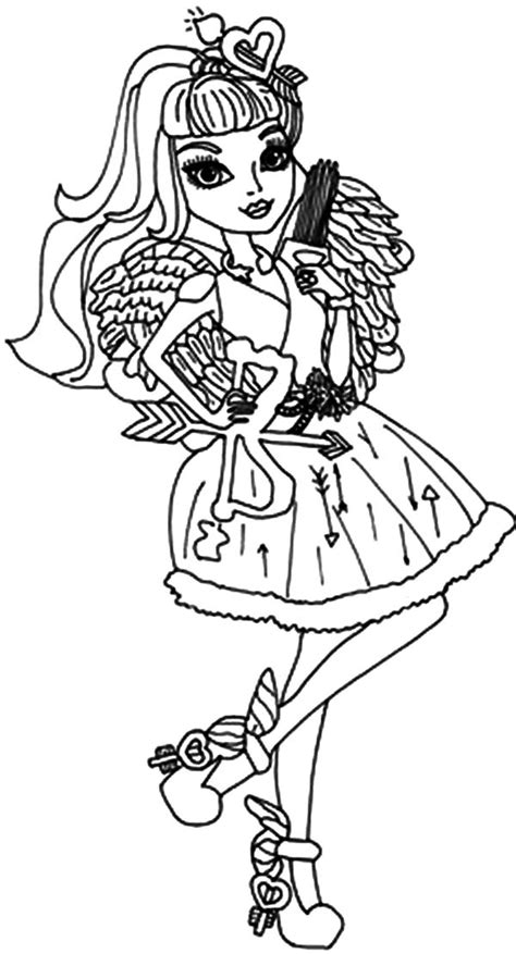 monster high valentines day coloring pages ca cupid coloring page cute cupid coloring pages bunny