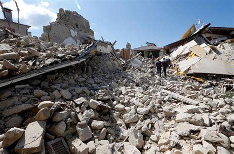 earthquake boston deadly earthquake hits italy the boston globe
