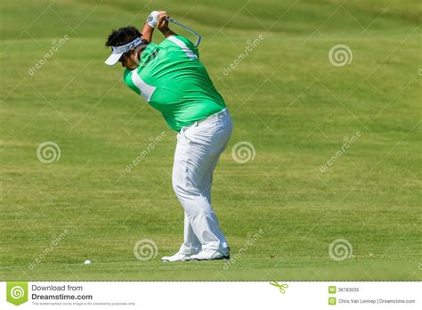 swinging strike golf professional kiradech aphibarnrat swinging editorial