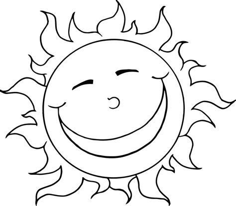 Sun Coloring Pages To Download And Print For Free Coloring Pages For Kid