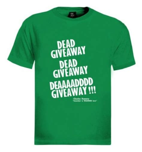 Charles Dead Giveaway - charles ramsey t shirts