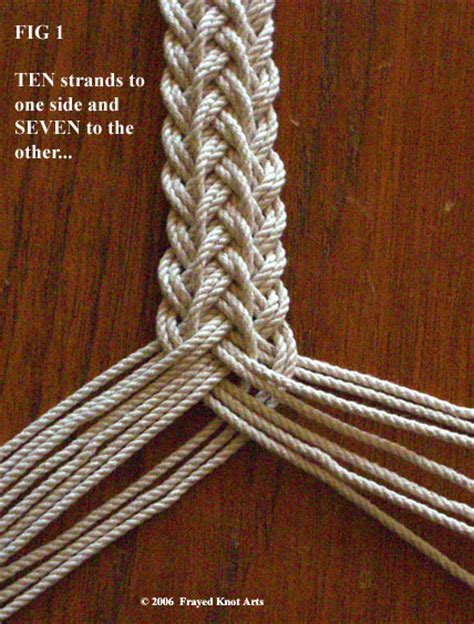 Hemp Braiding Knots - brainstorm knots and