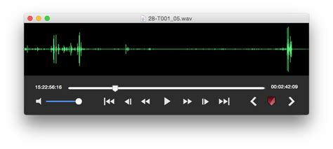 format audio bwf cineplay 1 3 for mac audio waveforms scrubbing and bwf