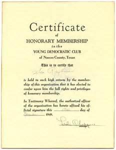 honorary membership certificate template sle membership certificate sle membership