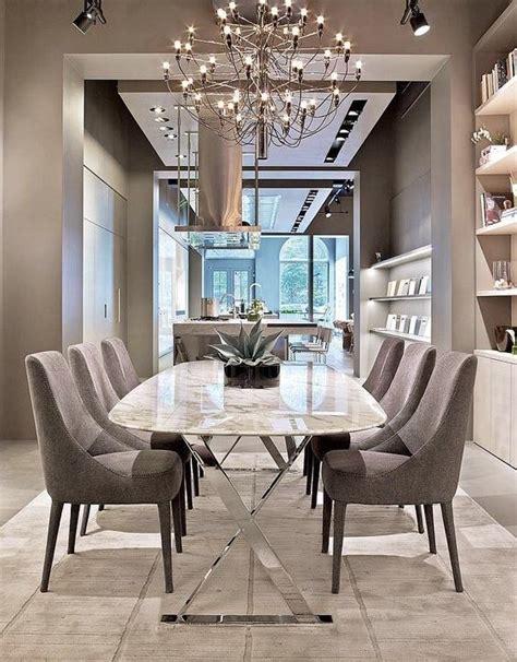 dining room decorating ideas create privacy with pocket mesas de jantar modernas 60 projetos dicas e fotos