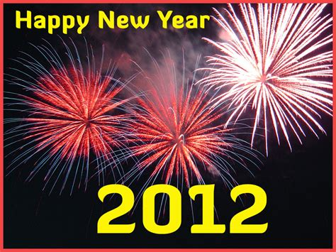 happy new year greetings 2012