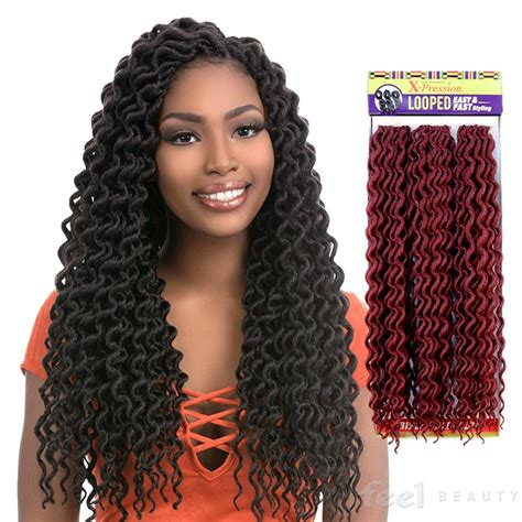 vivi curls expression x pression curly outre x pression 4 in 1 crochet braid