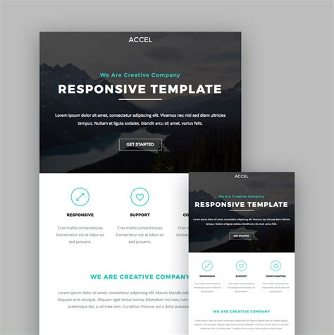 free mailchimp responsive templates 19 best mailchimp responsive email templates for 2018