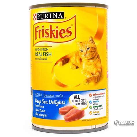 Makanan Kucing Friskies Seafood Selection 400gr detil produk friskies seafood in jelly kaleng 400 gr 3033020020031 8851012686537 superstore