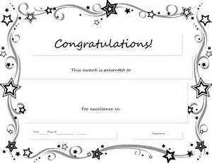 congratulation certificate template free printable certificates templates word sle