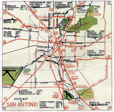 san antonio on map of texas bexar county texas maps and gazetteers