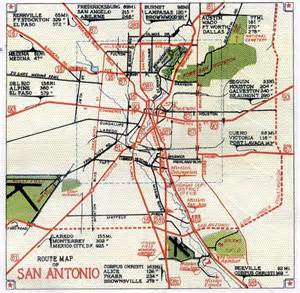 san antonio map cities historical maps perry casta 241 eda map