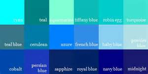 names of blue colors alaris