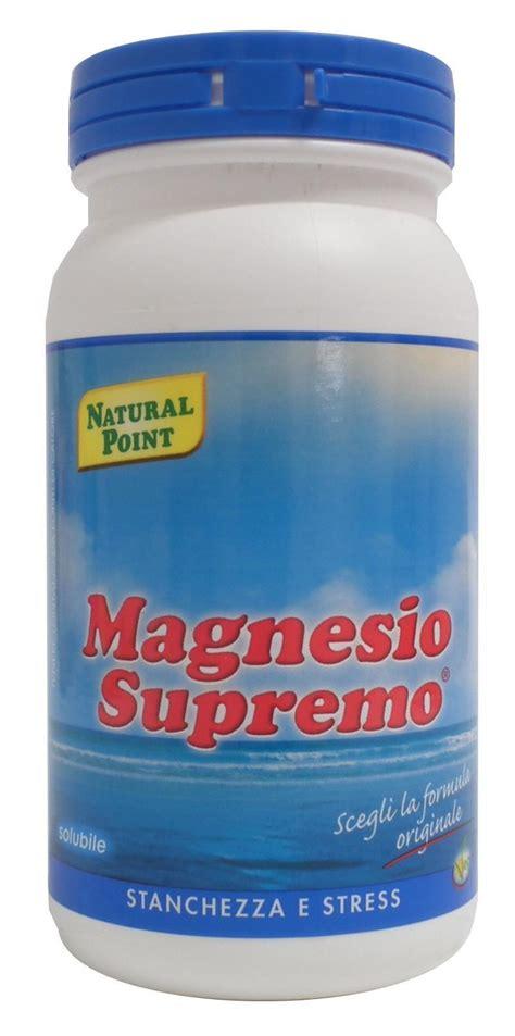 magnesio supremo ansia magnesio supremo polvere utile in caso di stanchezza e