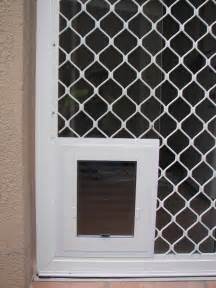 Pet Door For Screen Door Security Screen Doors Security Screen Pet Doors