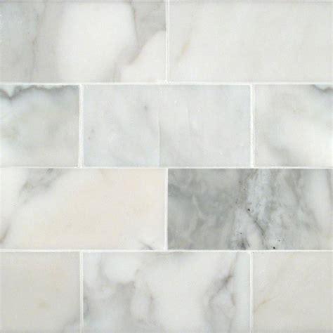 calacatta gold subway tile 3x6 subway tile white tile collection