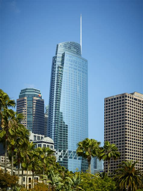 Wilshire Grand S Intercontinental Hotel Opening July 2