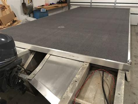 pontoon boat aluminum edging 91 20 weeres sportsman deluxe restore this winter