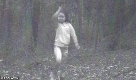 ghost film new york creepy photo of ghost girl caught on trail camera in ny