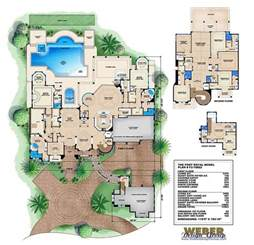 design house floor plans port royal house plan luxury tuscan architectural style