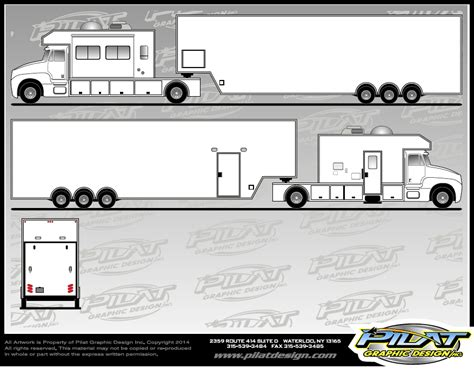The Gallery For Gt Race Car Wrap Designs Trailer Wrap Design Templates