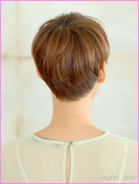 front side backiews of shorthair styles short haircuts black women front and back stylesstar com