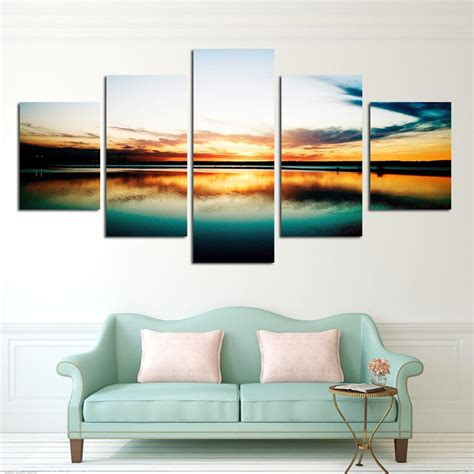 abstract hd canvas prints wall art painting home decor fashion 5 piece large canvas art cheap painting modern