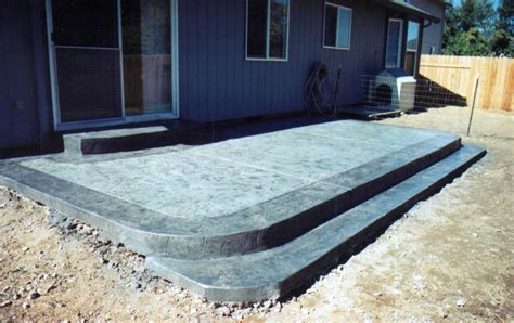 backyard cement designs concrete patio ideas for small backyards best concrete