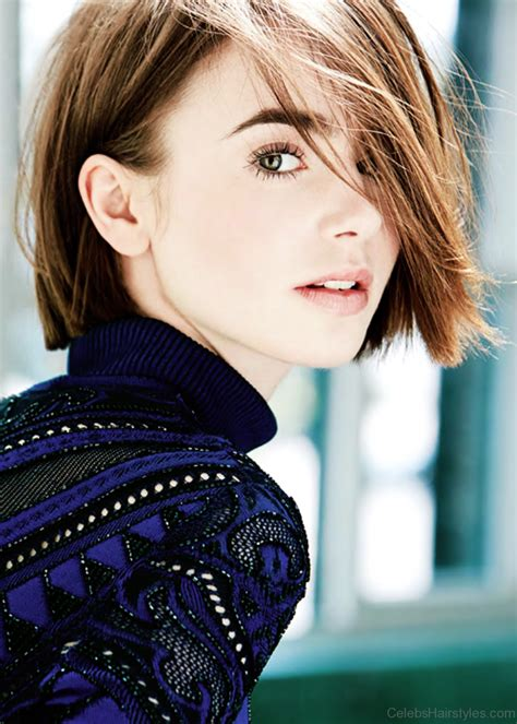 lizly hairstile 49 graceful hairstyles of lily collins