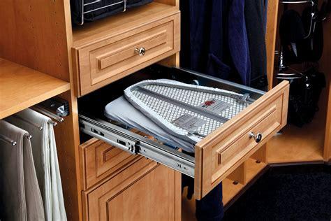 ironing board closet fold out ironing board cib 16cr rev a shelf