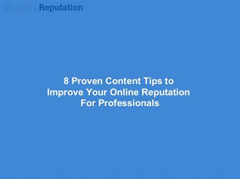 8 Tips On Improving Your Photography Skills by 8 Proven Content Tips To Improve Your Reputation