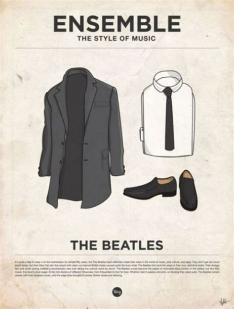 Sweater The Beatles November Clothing illustrations of musicians clothing planetoddity