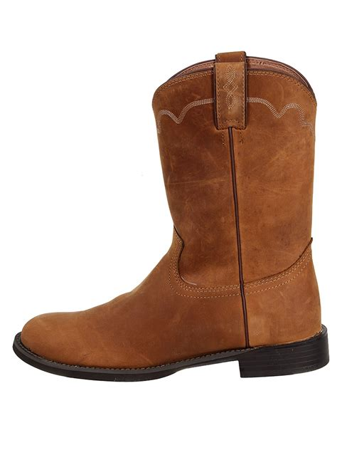 justin boots mens apache stede roper boots 3902